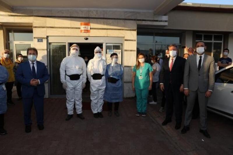 Başkan Palancıoğlu'ndan filyasyon ekiplerine ziyaret
