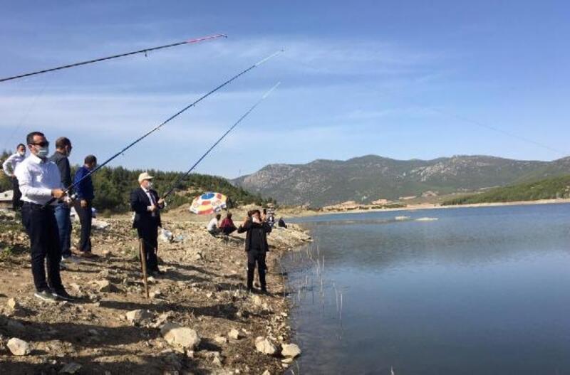 Bucak'ta Olta Balıkçılığı Yarışması yapıldı