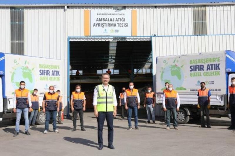 'Sıfır Atık Güzel Gelecek' projesiyle Başakşehir'de çöp miktarı 0,77 kilograma düştü