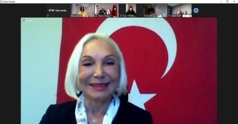 TOBB KGK Başkanı Nurten Öztürk, kadın girişimcilerle tecrübelerini paylaştı