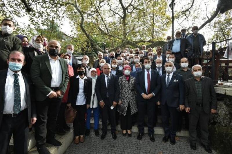 Osmangazi Belediye Başkanı Dündar, muhtarlarla buluştu