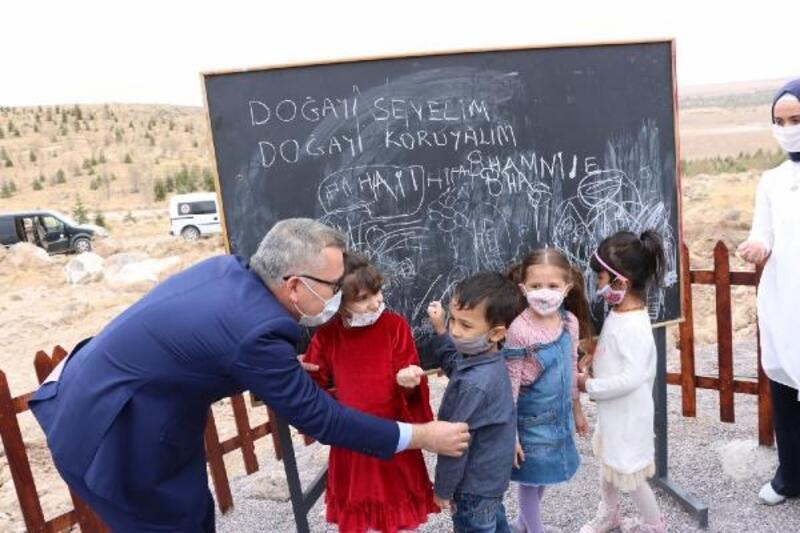 Niğde'de Doğa Okulu açıldı