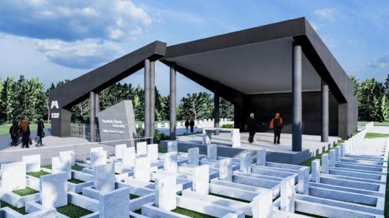 Mersin'de mezarlıklara temizlik, bakım ve onarım