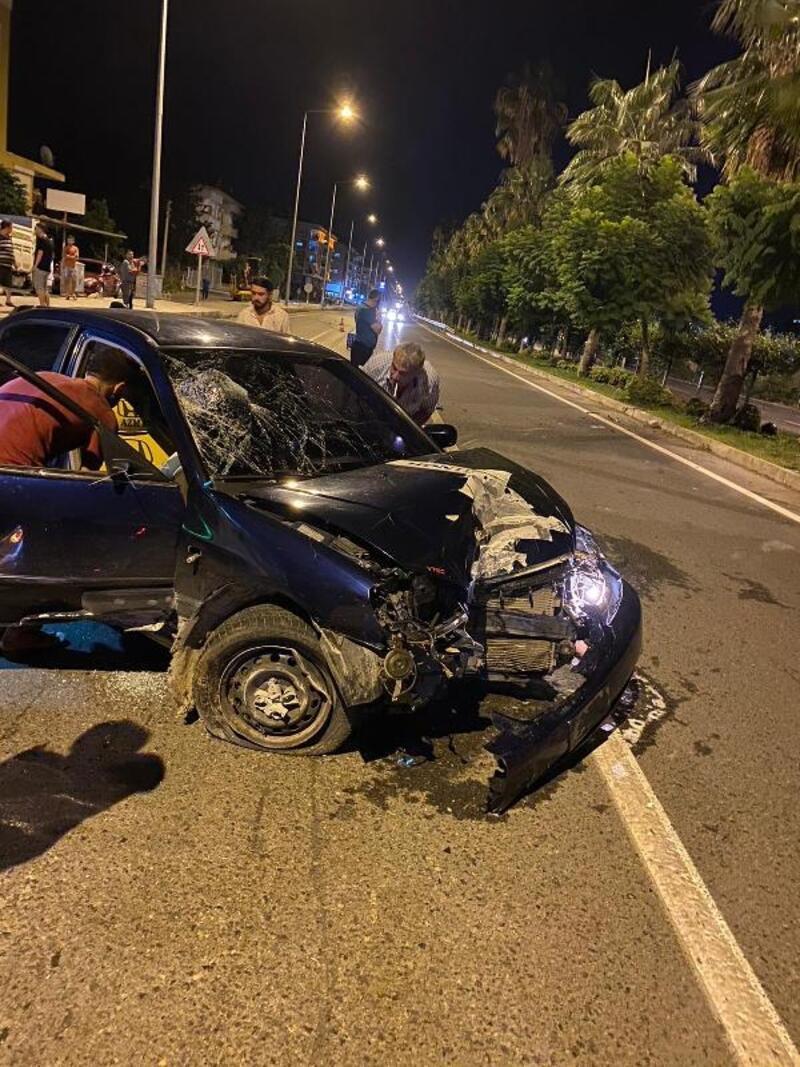 Gazipaşa'da kaza: 1 yaralı