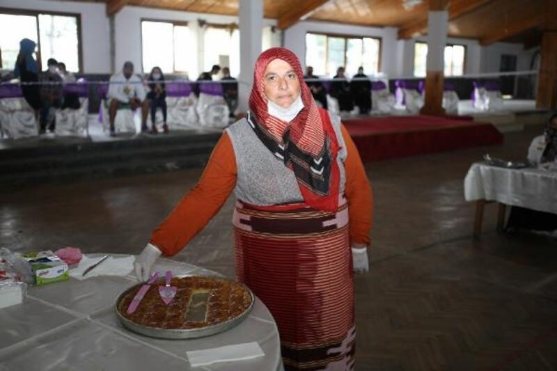 En güzel Laz Böreği yarışması düzenledi