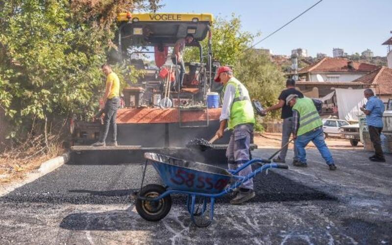 Esentepe ve Erenköy yolları asfaltlanıyor