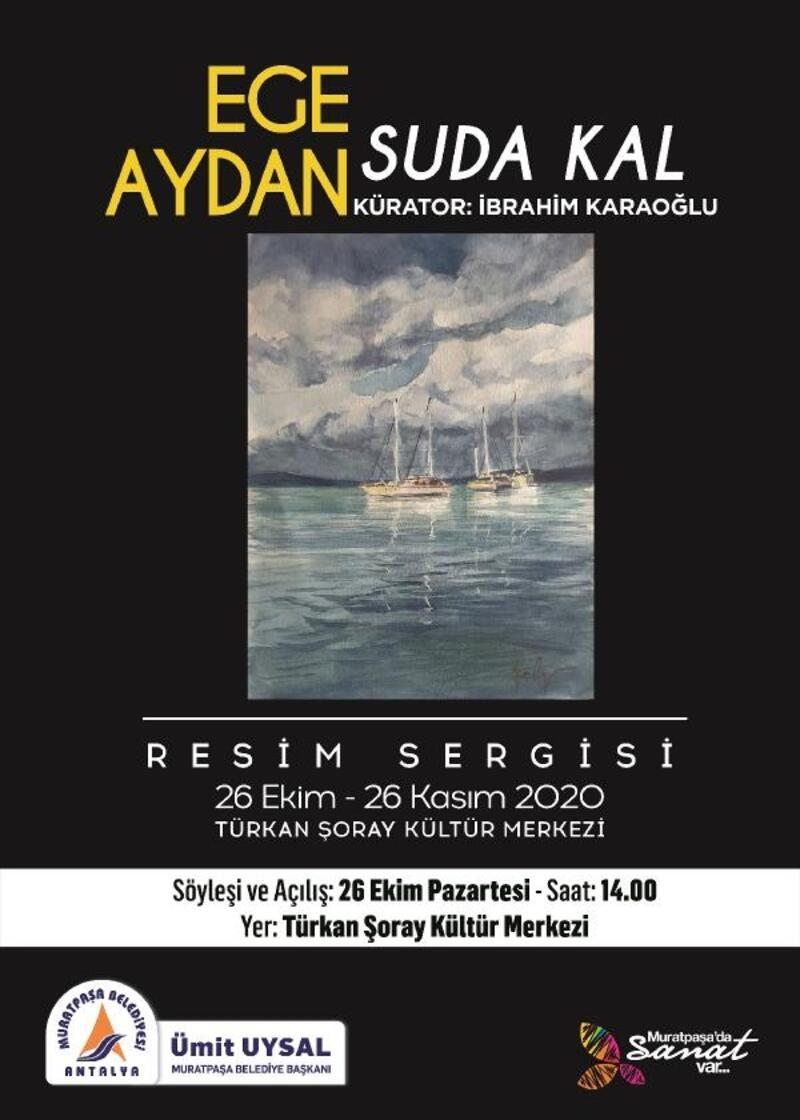 Ege Aydan'ın 33'üncü sergisi Türkan Şoray'da