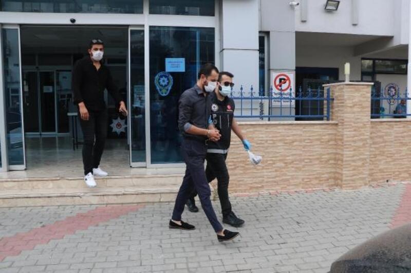 Alanya'da uyuşturucu taciri polisten kaçamadı