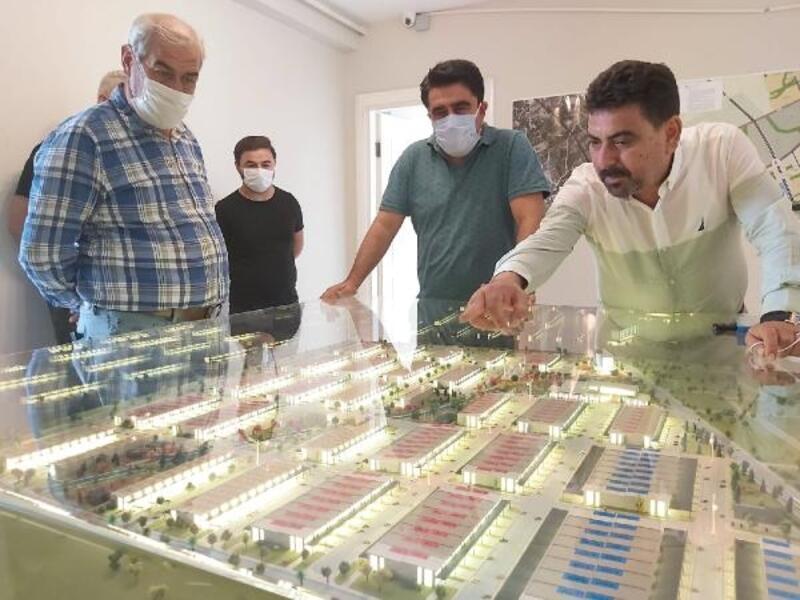 Mezitli'ye 350 milyonluk yatırımla sanayi sitesi