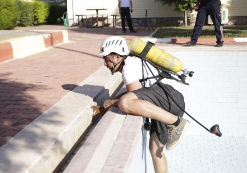 Antalya İtfaiyesi'ne 100 yeni itfaiye eri katılıyor
