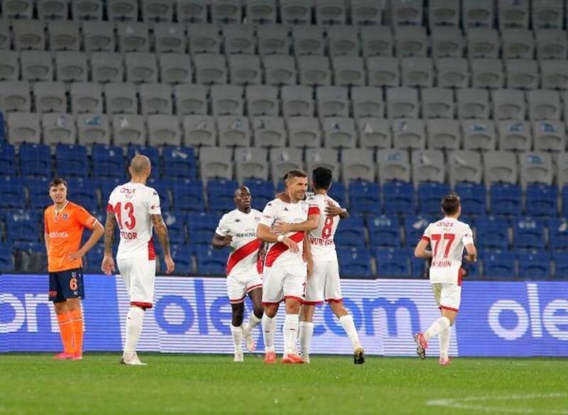 Medipol Başakşehir – Fraport TAV Antalyaspor: 5 - 1