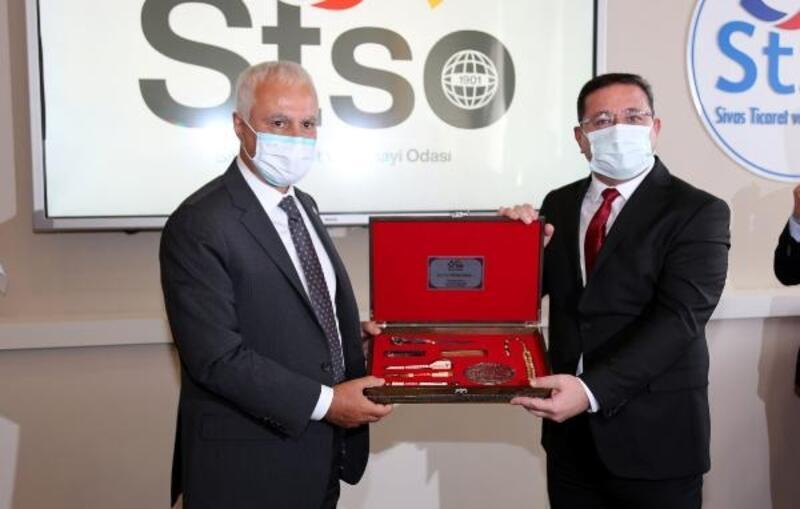 İYİ Parti ve CHP heyetlerinden STSO'ya ziyaret