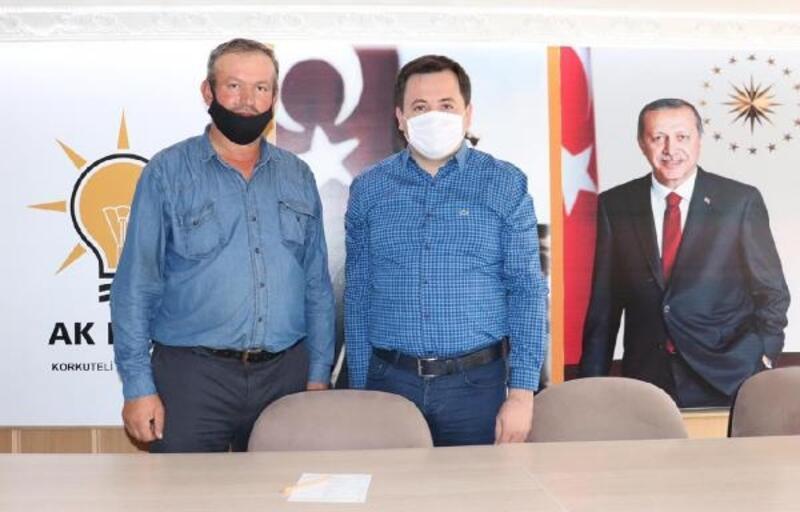 AK Parti'den üyelere fidan kartı