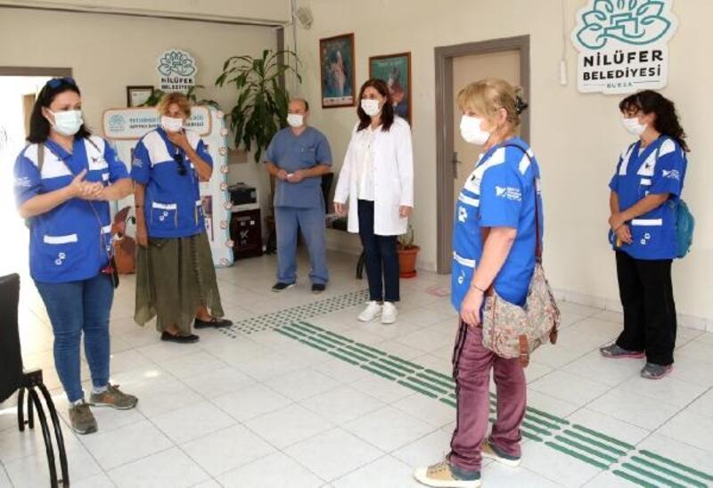 HAYTAP, Nilüfer'deki revizyon çalışmalarını inceledi