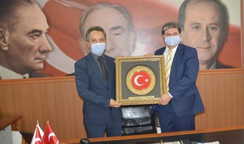 AKAMDER'den MHP Adana İl Başkanı Avcı'ya ziyaret