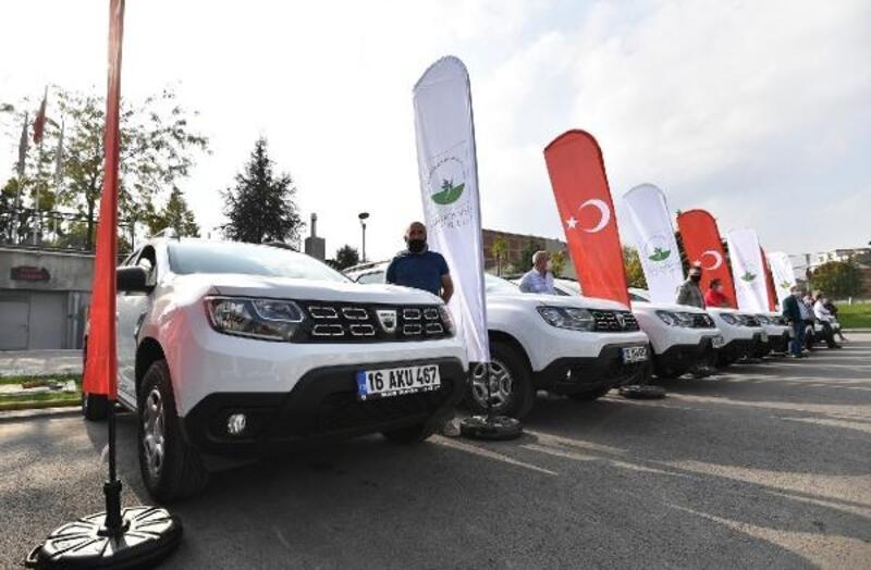 Filyasyon ekipleri için 30 araç tahsis edildi