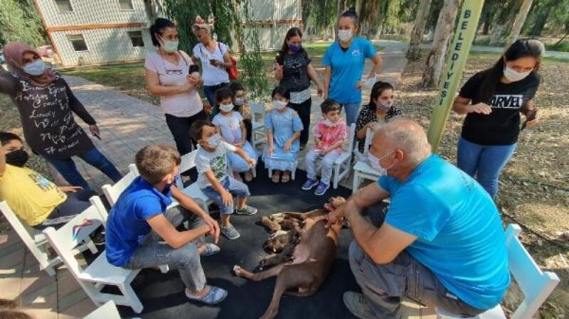 Çocuklara uygulamalı hayvan sevgisi