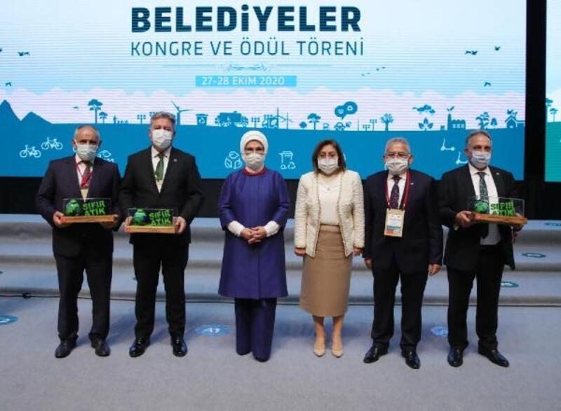 Kayseri'de 3 belediyeye sıfır atık proje ödülü