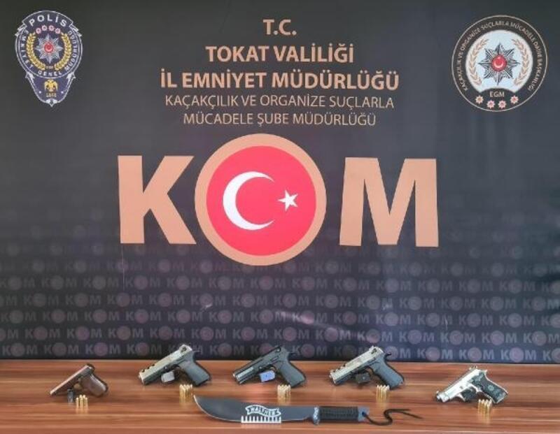 Tokat'ta silah operasyonu