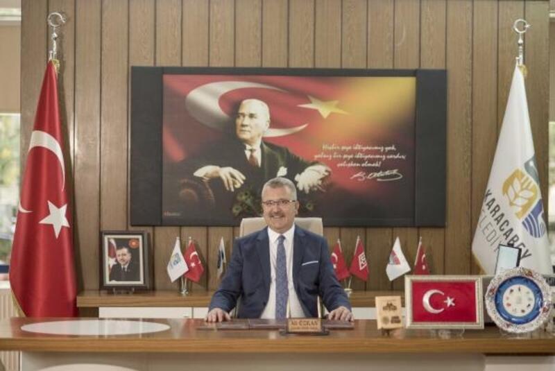 Başkan Özkan'dan Cumhuriyet Bayramı mesajı