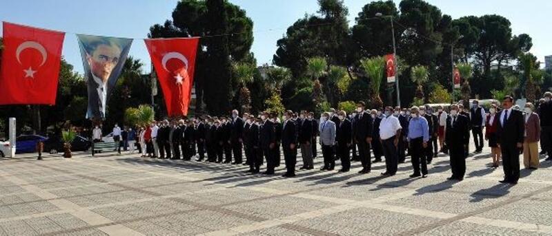 Turgutlu'da Cumhuriyet Bayramı kutlamaları başladı