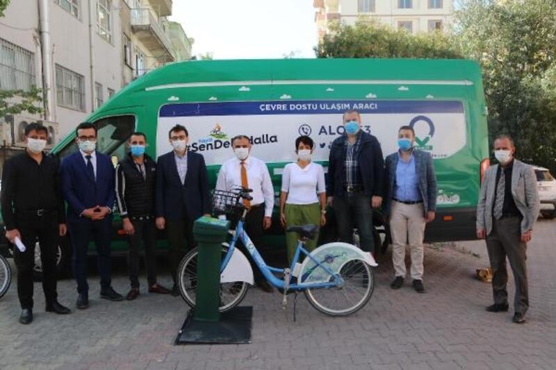 Develi'de 'Akıllı Bisiklet Paylaşımı' projesi
