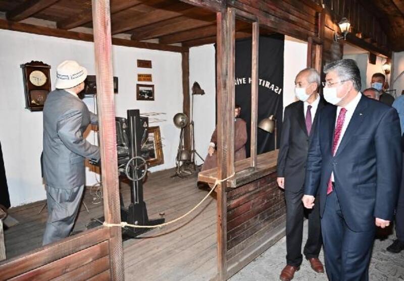 Vali Yılmaz, Osmaniye Kent Müzesi'ni gezdi