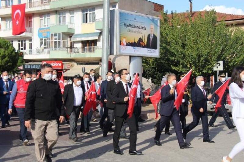 Bucak'ta Cumhuriyetin yıl dönümü coşkuyla kutlandı