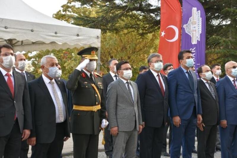 Afyonkarahisar'da 29 Ekim törenle kutlandı