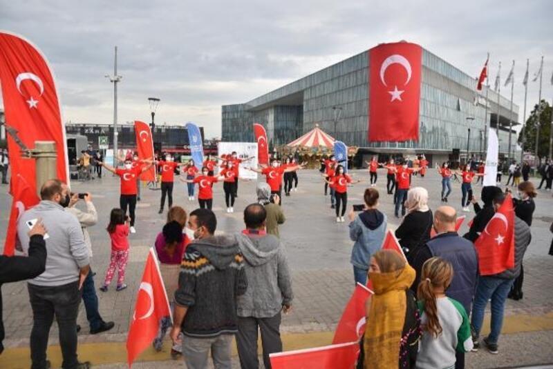 Bursa'da, Cumhuriyet Bayramı coşkuyla kutlandı