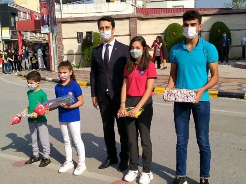 Erzin'de Cumhuriyet Bayramı coşkusu
