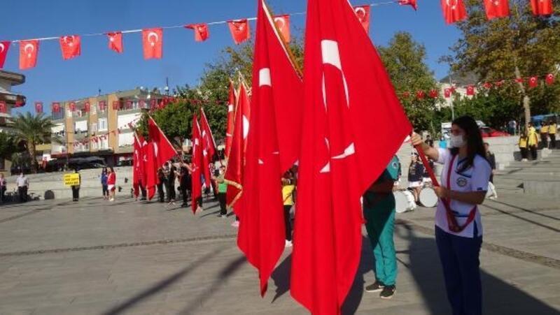 Anamur'da Cumhuriyet Bayramı coşkuyla kutlandı