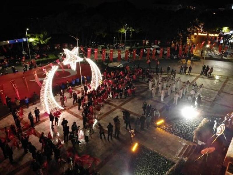 Muğla'da Cumhuriyet Bayramı coşkuyla kutlandı