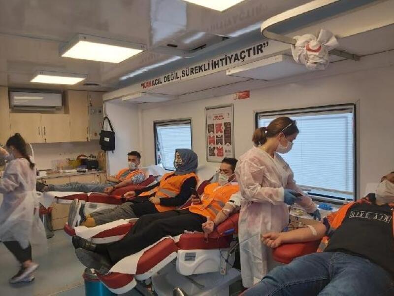 Tokat'ta KADEM'den Kızılay'a kan bağışı