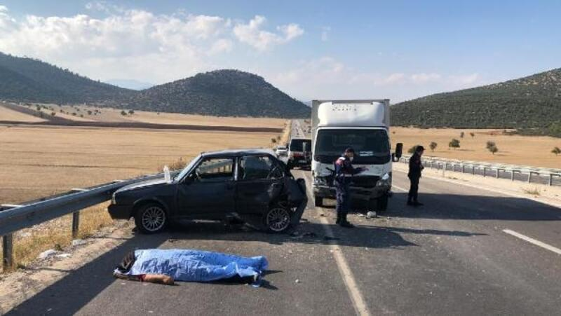 Korkuteli'de kaza: 1 ölü