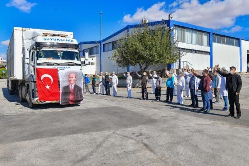 Ankara Büyükşehir Belediyesi'nden İzmir'e yardım eli