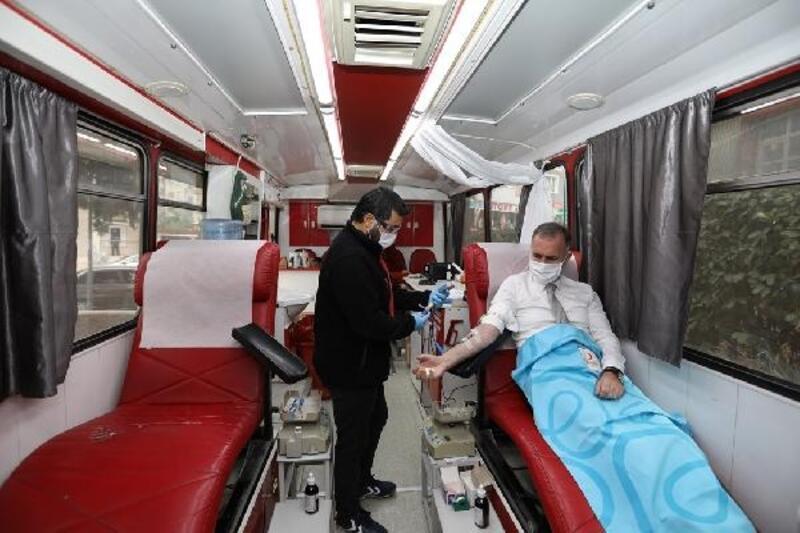 İnegöl Belediyesi'nden kan bağışı kampanyası
