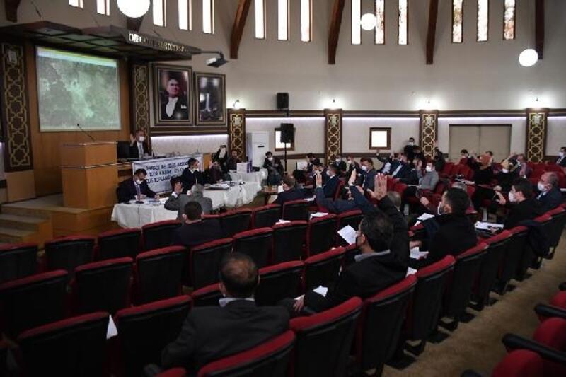 İnegöl Belediyesi'nin Meclis Toplantısı yapıldı