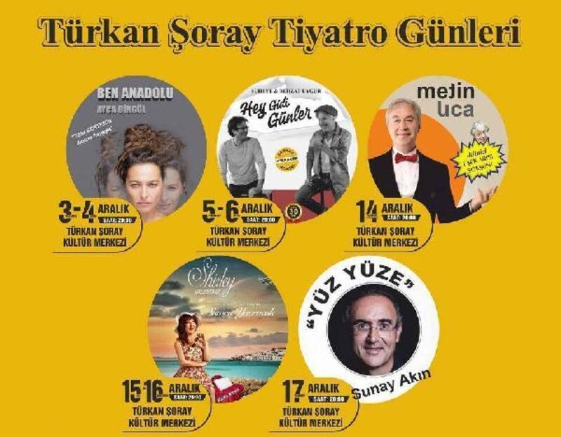 Türkan Şoray'da tiyatro günleri