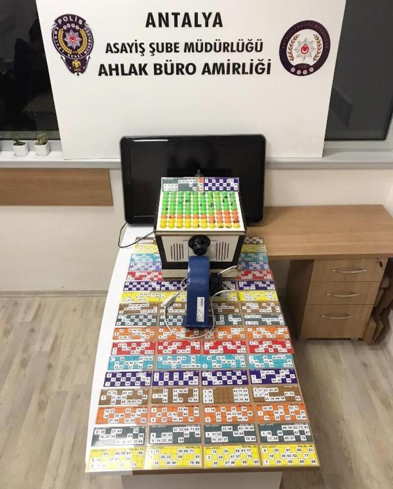 Polis kumar oynayan 43 kişiye 185 bin lira ceza kesti