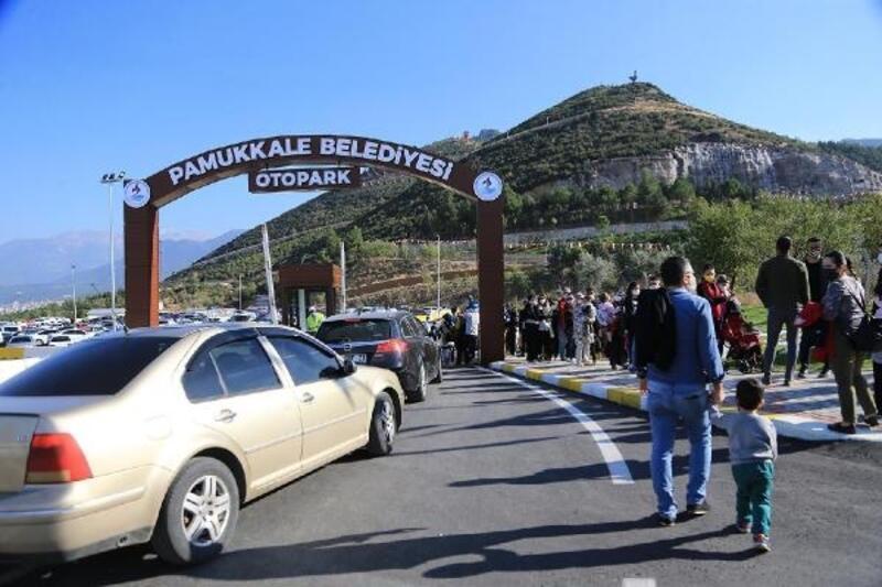 Tematik park 'Seyir Tepesi Şehir Ormanı' ziyarete açıldı