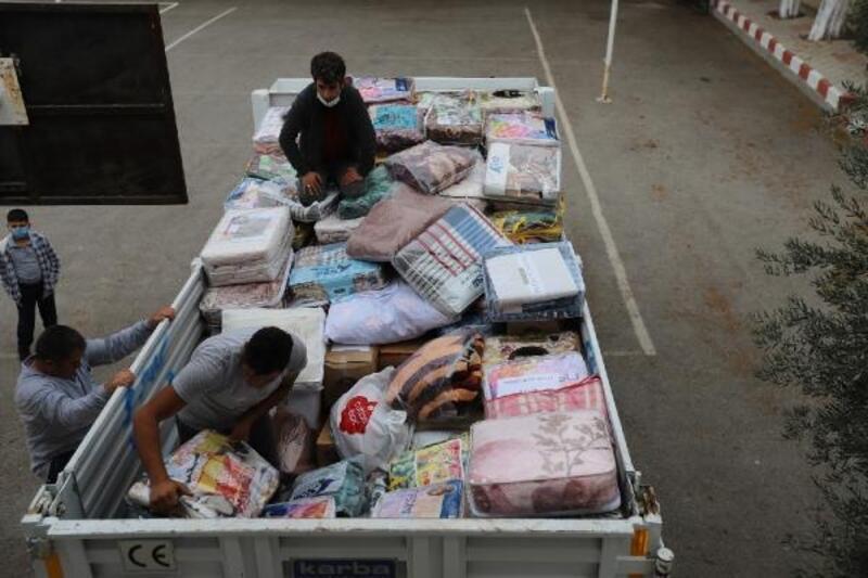 Gülnar'dan İzmir'e yardım eli