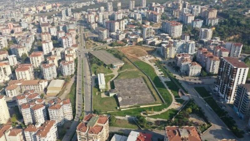 Bağlaraltı Mahallesi'ne 20 bin metrekarelik yeni park alanı