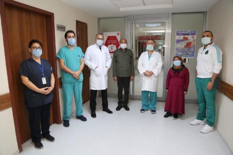ERÜ'de, böbrek nakli yapılan iki hasta sağlığına kavuştu