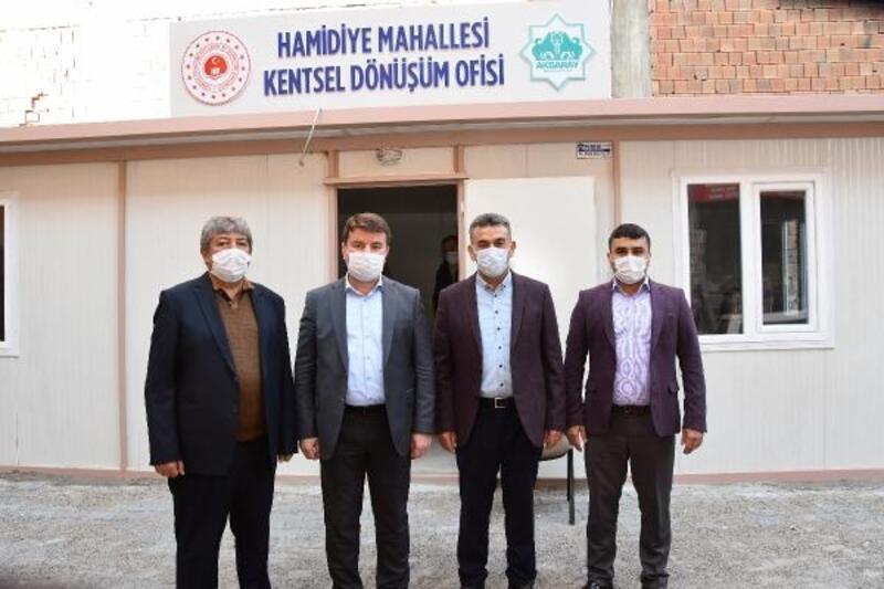 Aksaray'da Hamidiye Mahallesinde kentsel dönüşüm için ilk adım atıldı