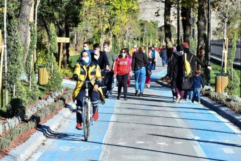 Çubuk-1 Barajı Rekreasyon Alanı'na yoğun ilgi