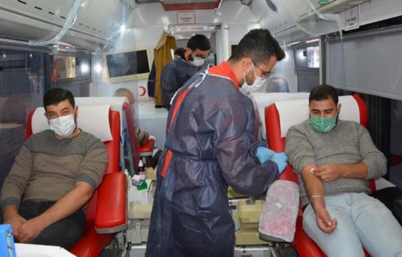 Korkuteli'de kan bağışı