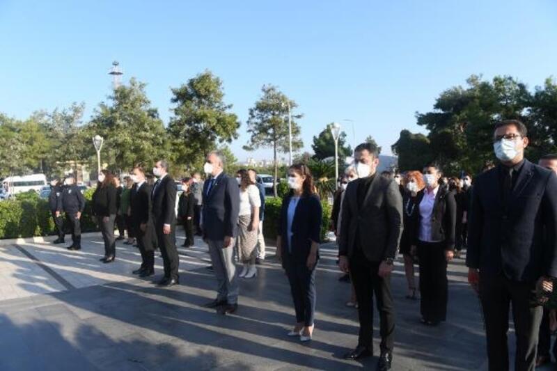 Konyaaltı Belediyesi Ata'yı andı