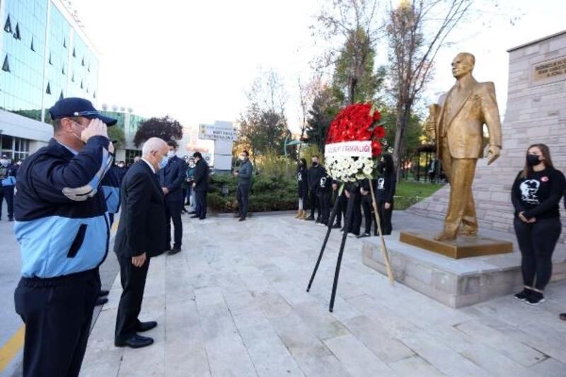 Yenimahalle'de, Mustafa Kemal Atatürk anıldı
