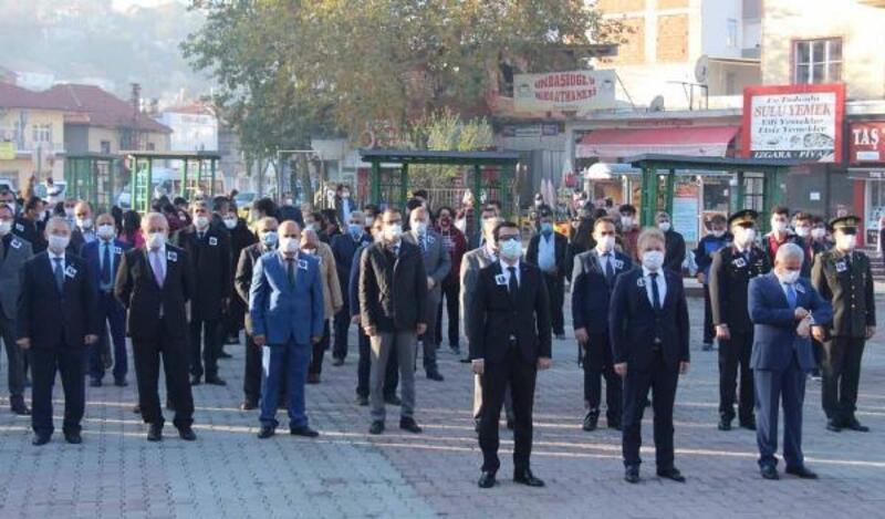 Bucak'ta Atatürk'ü anma töreni